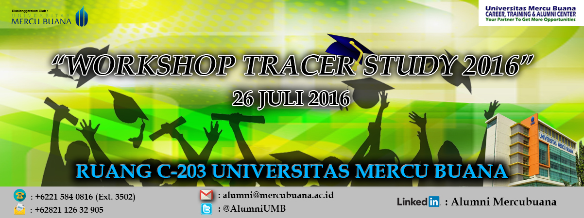 Workshop Tracer Study 2016