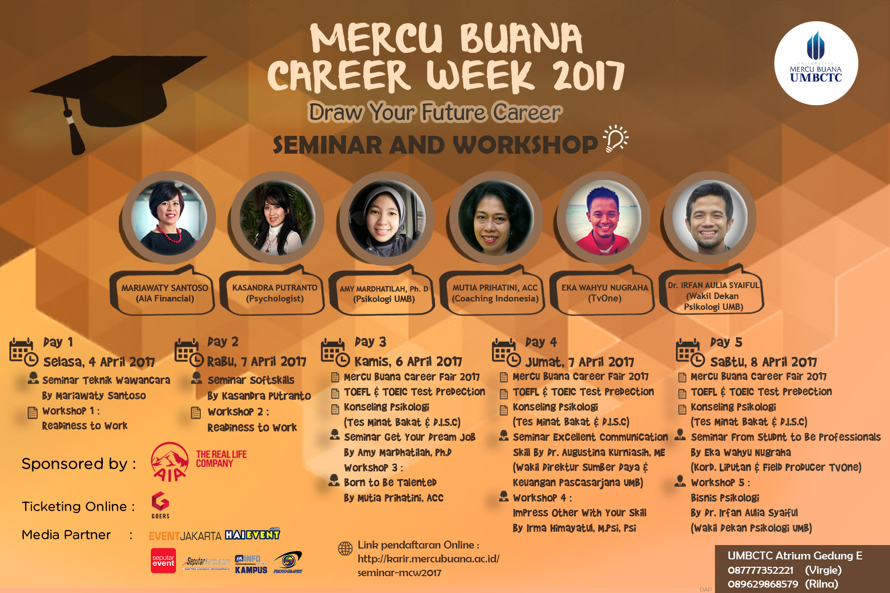 Seminar dan Workshop Career Week 2017