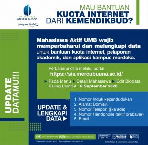Program Bantuan Kuota Internet